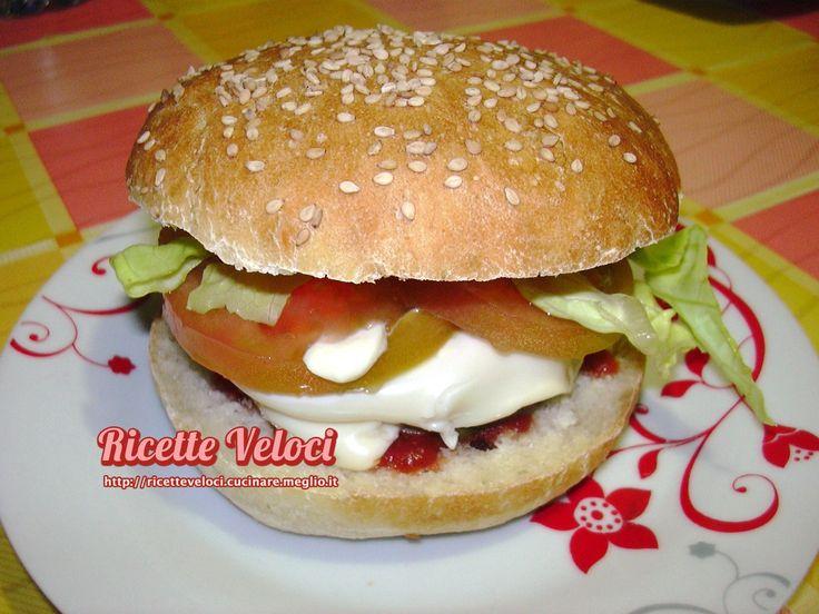 Hamburger di manzo con olive