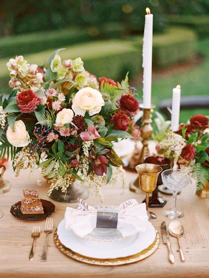 Rustic Glam California Wedding Inspiration Shoot - MODwedding