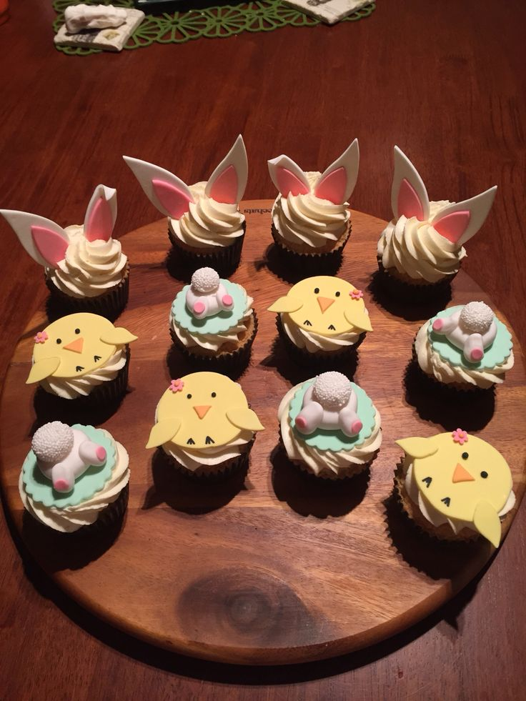 Easter cupcakes 2015