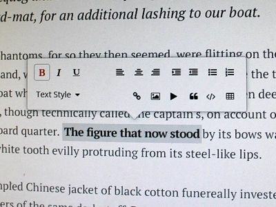 Ink: Wordpress Rich Text Editor Redesign