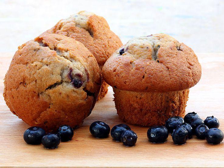 Recette - Muffins aux bleuets