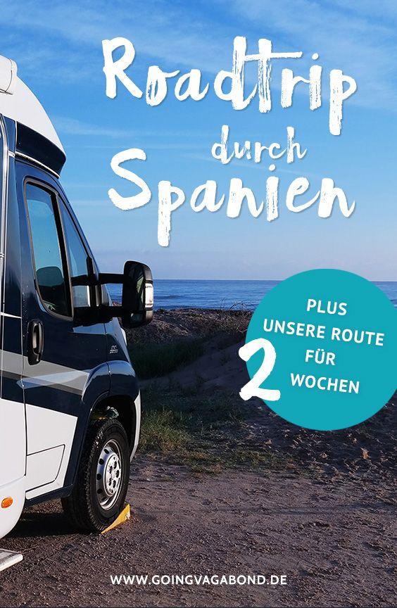 Alles zu unserem Roadtrip durch Spanien inklusive unserer Reiseroute für 2 Wochen