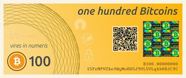 bitcoin paper wallet designs