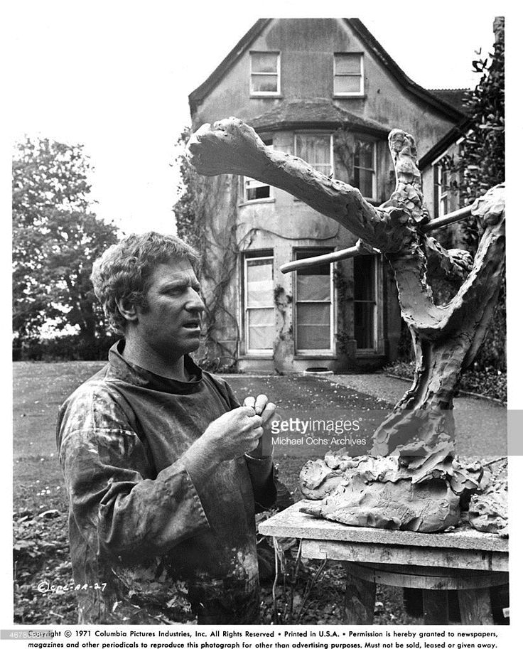 Clive Revill in A Severed Head, 1970