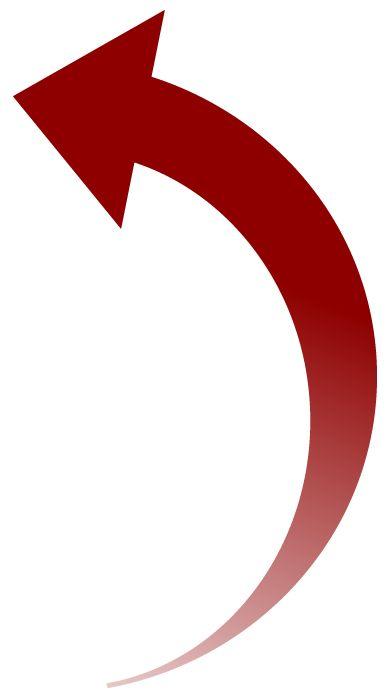 Curved Arrow Clipart - Clipart Kid | arrows | Pinterest ... Curved Arrow