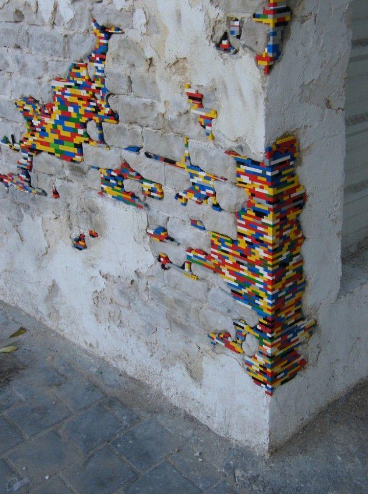 Jan Vormann lego streetart dispatchwork