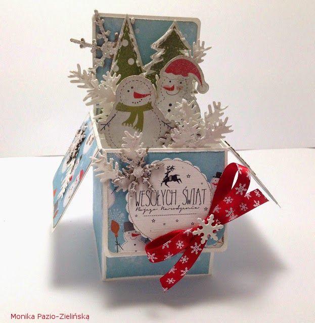 """Galeria KOKON: Świąteczna """"kartka w pudełku""""?"""