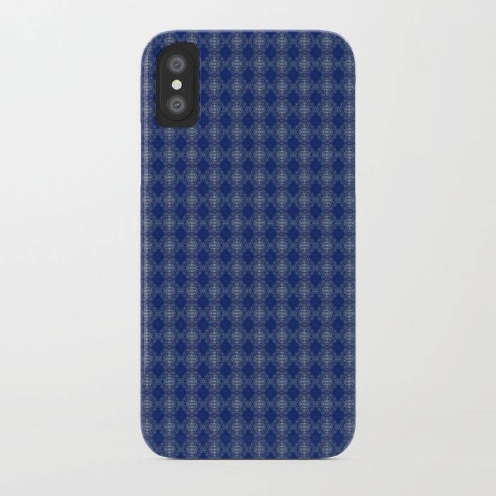Protect your iPhone with a one-piece, impact resistant, flexible plastic hard case featuring an extremely slim profile. Simply snap the case onto your iPhone for solid protection and direct access to all device features.blue, white, abstract, grid, pattern, design, computer generated, digital, society6, gifts, shopping, buy, sell, unique #artwork #abstract #darkblue #society6