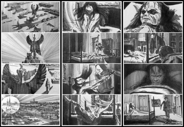The Exorcist – Storyboards
