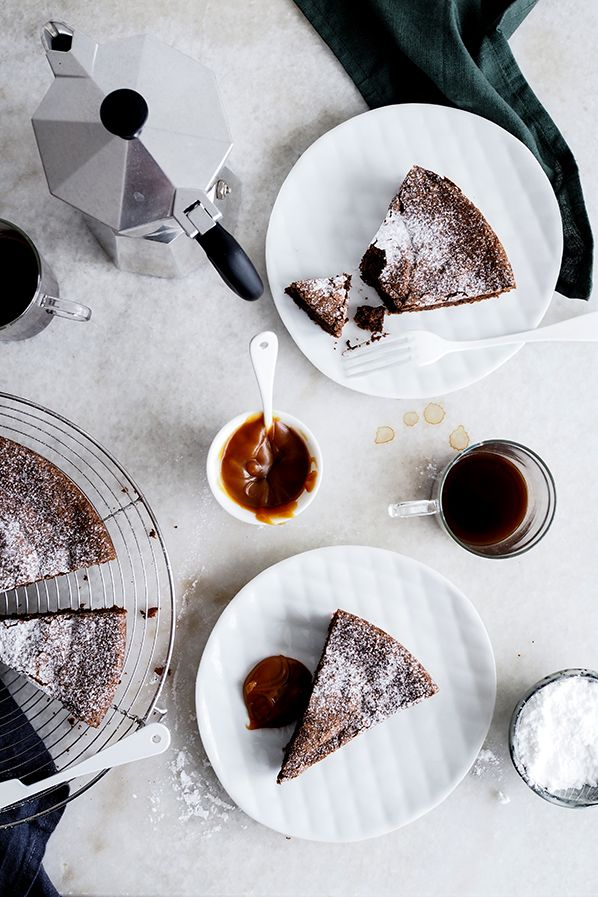 Chocolate cake - Carnets parisiens