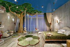 """""""Sogni d'Oro - 10 Idee di design di camere da letto per i bambini - Natura dentro casa"""""""