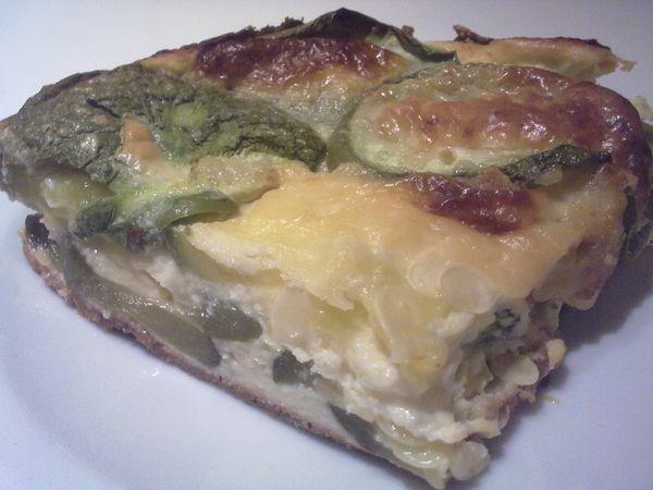 Receta Souffle de zapallitos de Patricia Leite Strozzi