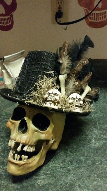 Diy Witch Doctor Top Hat Voodoo Halloween Witch Doctor