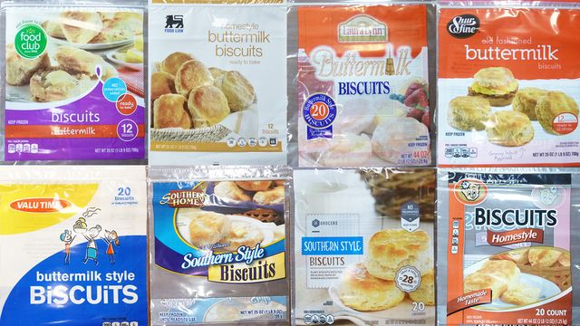 PRODUCTS/FOOD – FROZEN BISCUITS - Frozen biscuit recall affects 12 states, different brands