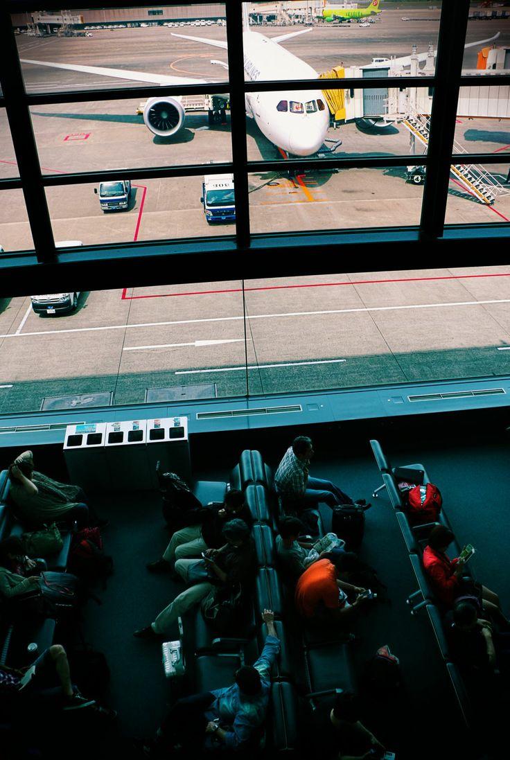Aeroporto de Narita, Japan.