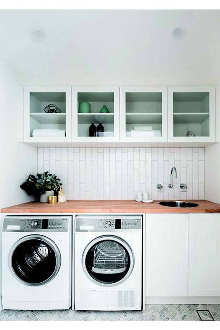 Small Space Laundry Renovations How To Fit A Laundry Into Any