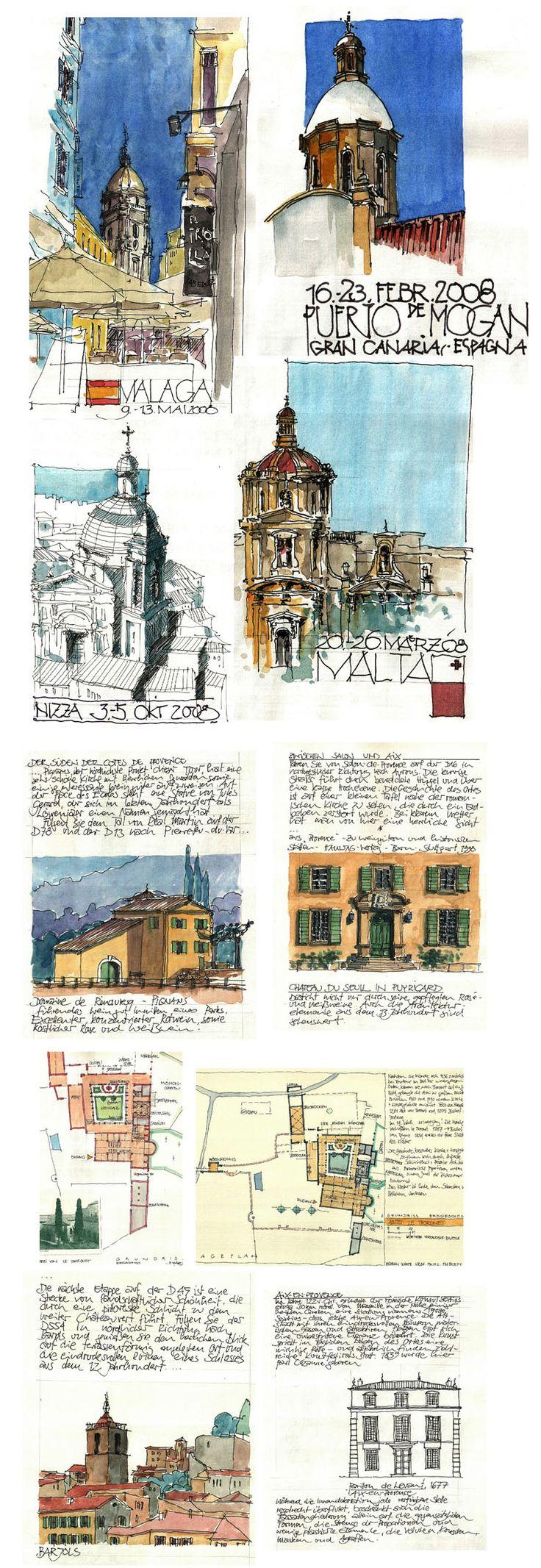 Travel Journal - Jochen Schittkowski #urban #sketch |  https://www.flickr.com/photos/127217696@N02/with/17074447880/