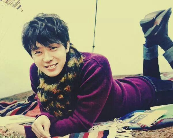 Park Yoochun smiling