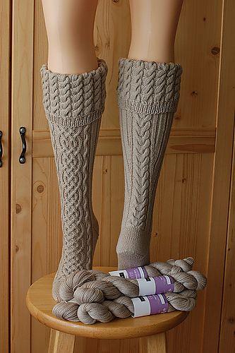 Ravelry: Rhiannon Socks pattern by Cookie A