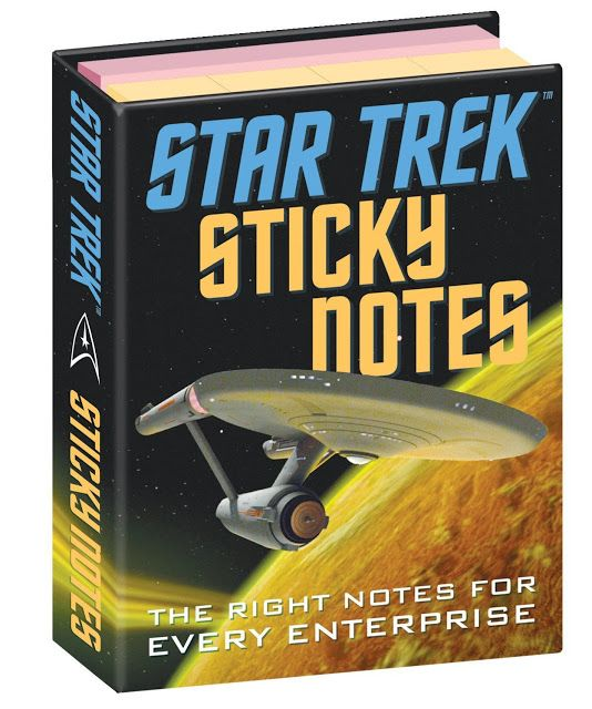 rogeriodemetrio.com: Star Trek Original Series Sticky Notes