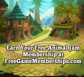 Click here to start earning a free Animal Jam membership! http://freegamememberships.com/animal-jam-codes/