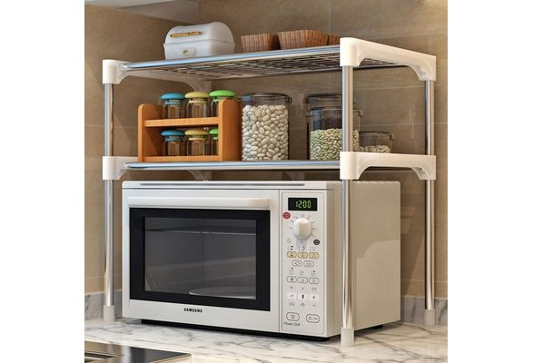 Reinforcement And Rust Proof Iron Art Kitchen Bathroom Storage Layer Shelf With Multilayer Microwave Oven Stacks Reinforcement And Rust レンジ台 キッチン 台所