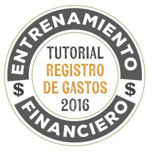 Tutorial Registro de Gastos 2016