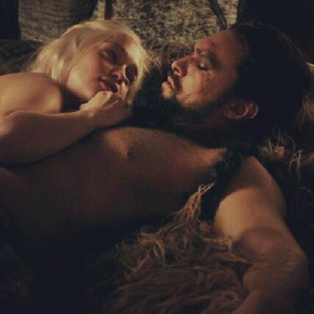 - Khal Drogo And Daenerys Relationship Counseling