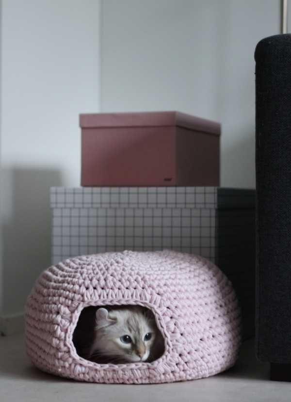 Crochet A Cat's Cave