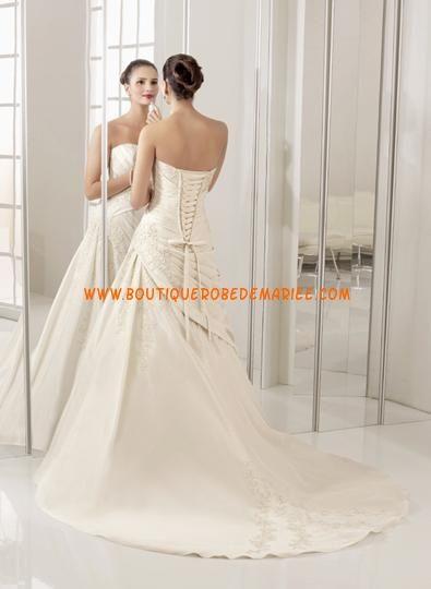 Robe de mariée 2011 à bustier coeur