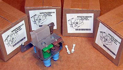 WR57X10051R-4 PACK Refrigerator Water Valve for GE WR57X10032 WR57X10051