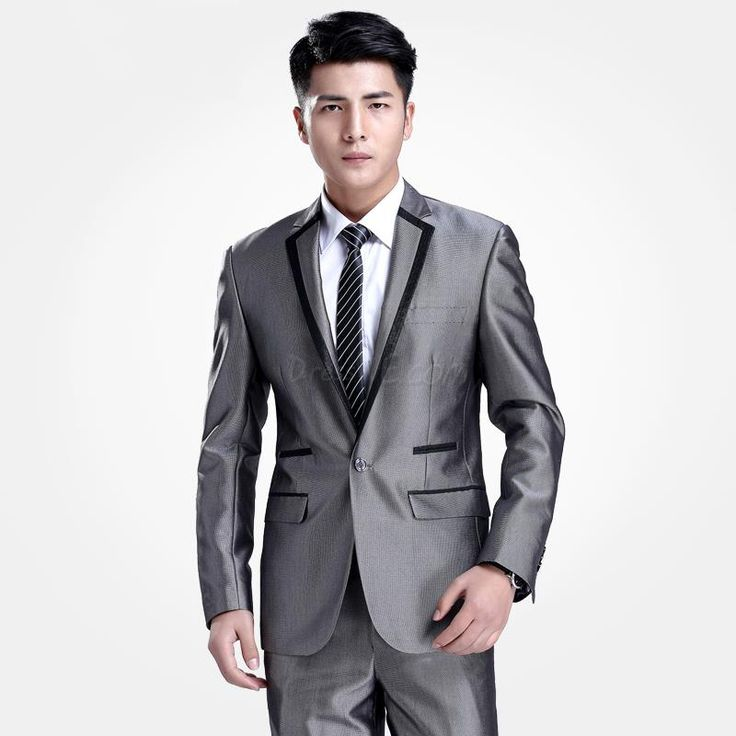 trajes formales para hombre