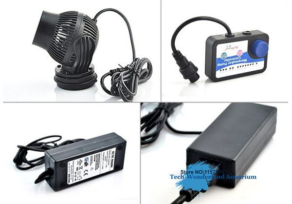 JEBAO WP-10 WP-25 WP-40 WP-60 wireless wave maker with Controller Power head pump for freshwater marine aquarium free shipping #Affiliate