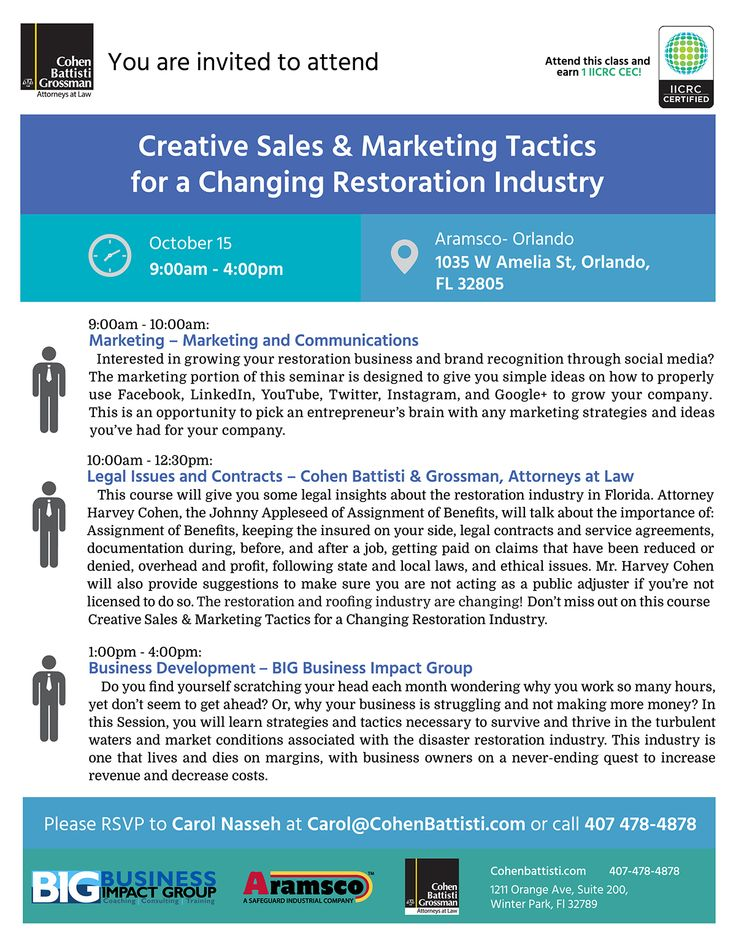 Creative Sales & Marketing Tactics for roofers, plumbers, restoration, mold and general contractors.