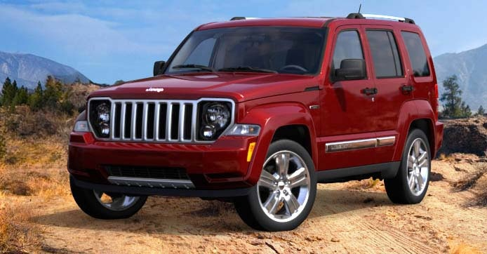 Jeep Liberty  http://www.jeep.com/en/2012/liberty/#model=sport=deep_cherry_red