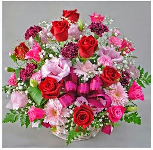 un bouquet de roses