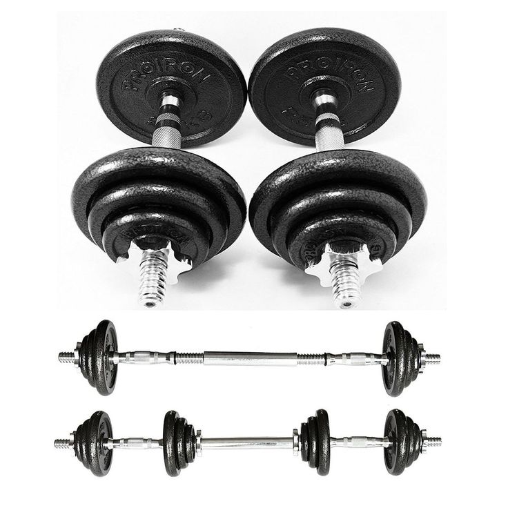 PROIRON 20kg Cast Iron Adjustable Dumbbell Set Hand Weight with Solid Dumbbell  #weighttraining #fitness #exercise #workout #dumbbells
