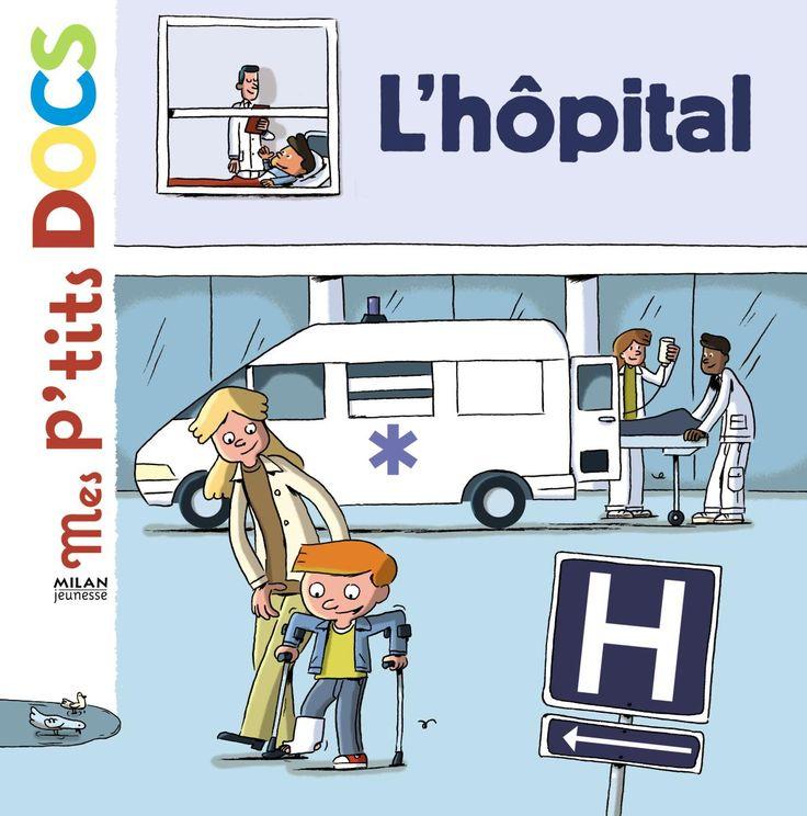 L'hôpital est souvent un lieu synonyme d'angoisse pour les toutpetits.Ce « P'tit doc » explique son fonctionnement et montre ce qui s'y passe pour rassurer les enfants.