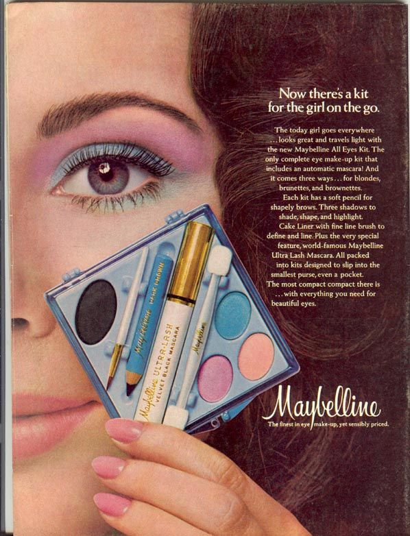 Maybelline make-up compact...had everything you needed...all in one!