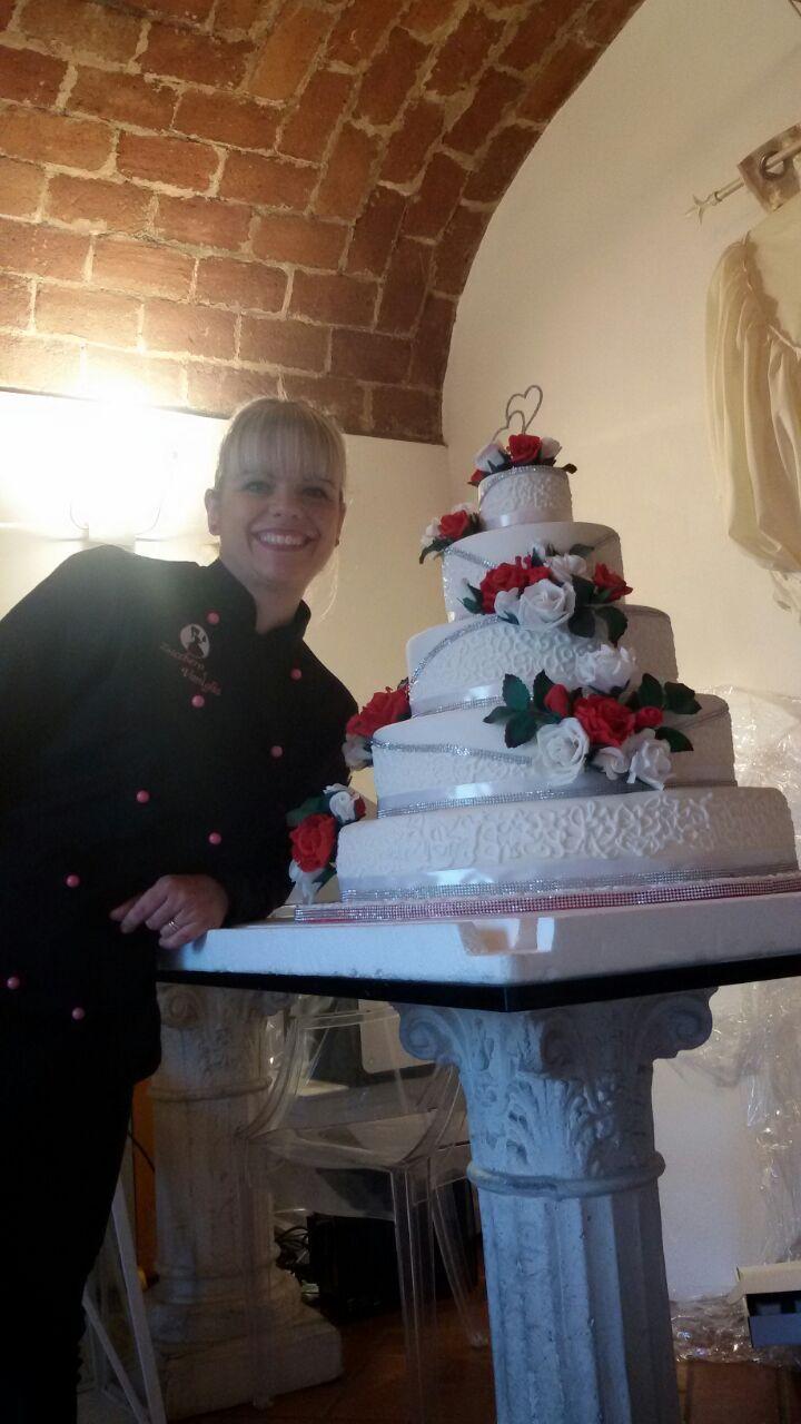 wedding cake fiori