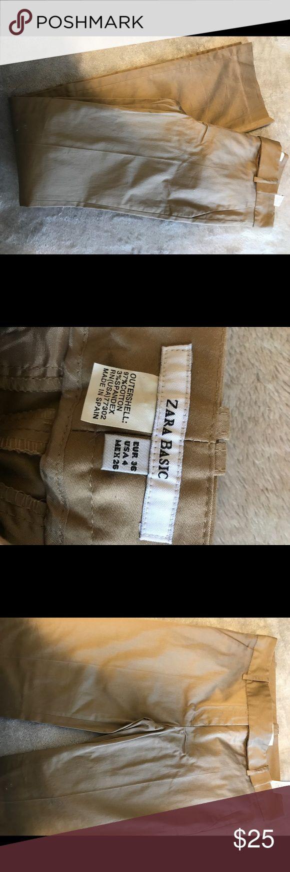 Zara trousers New , zara trousers khaki Zara Pants Trousers