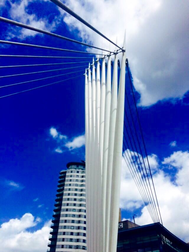 Media City Footbridge, Salford