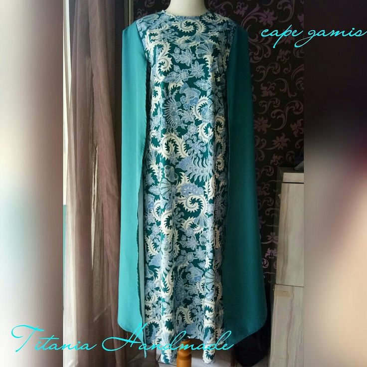 Cape blazer gamis batik.  Open order. Size and colours are based on order. Please contac us on 081357547888
