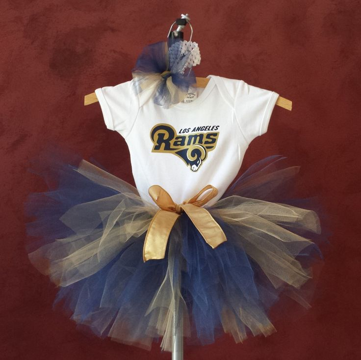 LA Rams sports inspired tutu set, baby tutu, toddler tutu, newborn tutu, birthday tutu set, photo prop black and gold tutu Cheerleading by TtoTutu on Etsy https://www.etsy.com/listing/276713834/la-rams-sports-inspired-tutu-set-baby