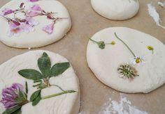 Blumenfreuden // Schönes aus Salzteig mit Kindern basteln – Bastelideen