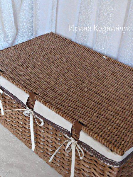 Плетение из бумаги и газет. Красноярск.