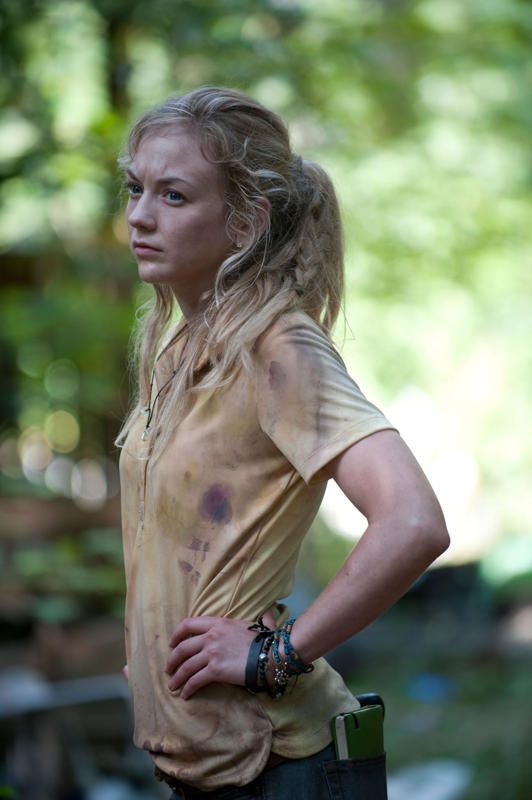 "Still Beth Greene (Emily Kinney) in ""The Walking Dead"" episode, ""Still."":"
