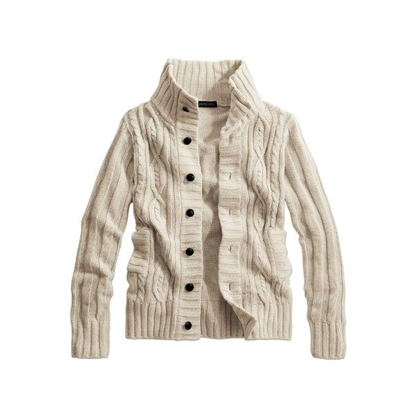 Mao Collar Cardigan - Men's Tops - nissen Global - online store for... ❤ liked on Polyvore featuring men's fashion, men's clothing, men's sweaters, mens shawl collar sweater and mens shawl collar cardigan sweater