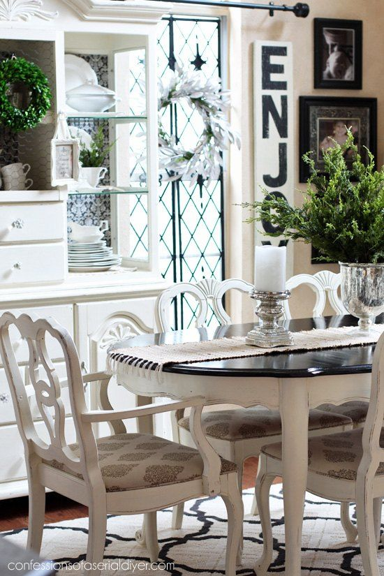 1000 ideas about dining table makeover on pinterest dining tables oak dining table and white. Black Bedroom Furniture Sets. Home Design Ideas