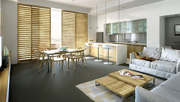 Apartment, Townsville, escape the heat on Behance